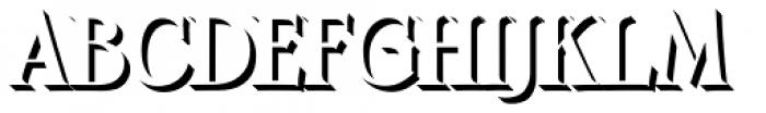 Boromir Caps Shadow Font UPPERCASE