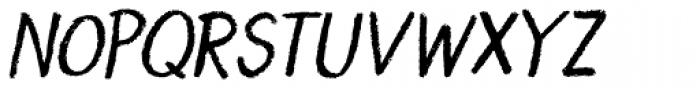 Borrowdale Italic Font UPPERCASE