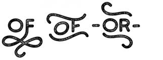 Bosk Hand Elements Press Bold Font UPPERCASE
