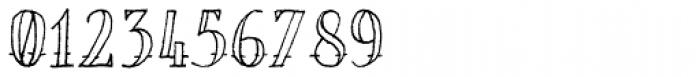 Bosman Empty Font OTHER CHARS