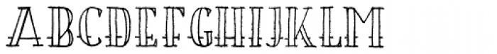 Bosman Empty Font UPPERCASE