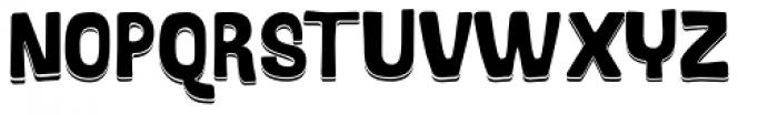 Bosque Shadow Font UPPERCASE