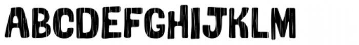 Bosque Wood Font UPPERCASE