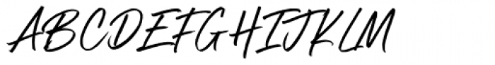 Boston Skyline Clean Font UPPERCASE