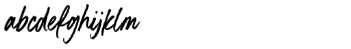 Boston Skyline Clean Font LOWERCASE