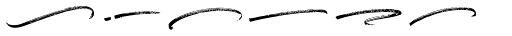 Boston Skyline Swashes Rough Font LOWERCASE