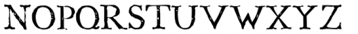 Boswell Font UPPERCASE