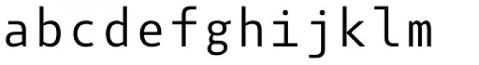 Botanika Mono Font LOWERCASE
