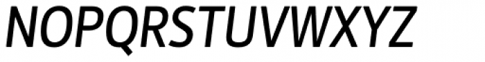 Botanika Std Medium Italic Font UPPERCASE