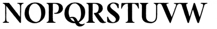 Botany Text Regular Font UPPERCASE