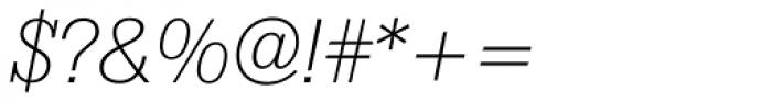 Boton Light Italic Font OTHER CHARS