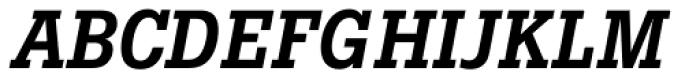 Boton Medium Italic Font UPPERCASE