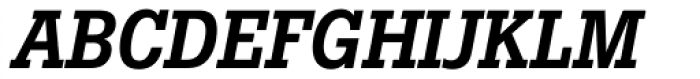 Boton Pro Medium Italic Font UPPERCASE