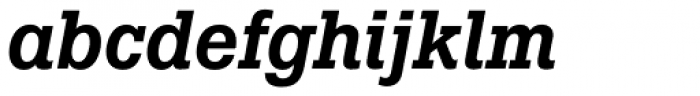 Boton Pro Medium Italic Font LOWERCASE