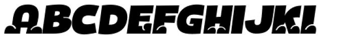 Bototo Italic Font LOWERCASE