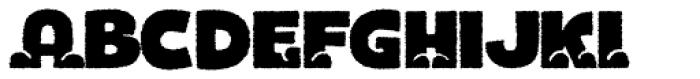 Bototo Rough Font LOWERCASE