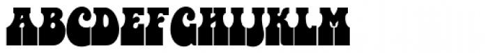 Bottleneck SH Regular Font UPPERCASE
