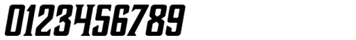 Boucherie Block Bold Italic Font OTHER CHARS