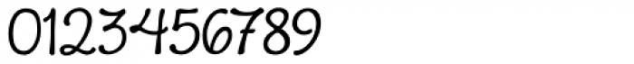Boucherie Cursive Basic Font OTHER CHARS