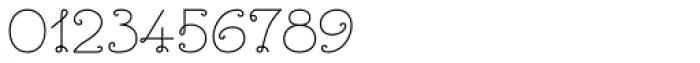 Bouclettes Medium Font OTHER CHARS