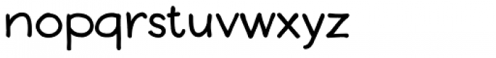 Boudoir Bold Font LOWERCASE
