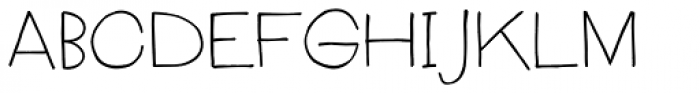 Boudoir Light Font UPPERCASE