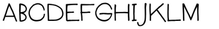 Boudoir Font UPPERCASE