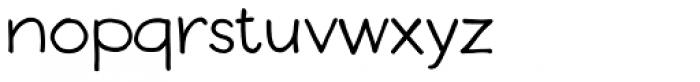 Boudoir Font LOWERCASE