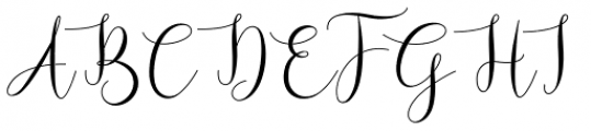 Bougainvillea Regular Font UPPERCASE
