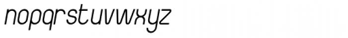 Boulas Italic Font LOWERCASE
