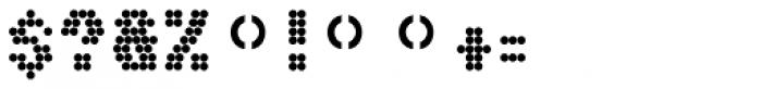 Boules Sans Font OTHER CHARS