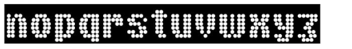 Boules Font LOWERCASE