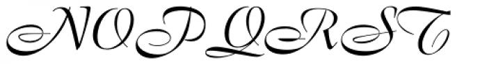 Boulevard BQ Font UPPERCASE