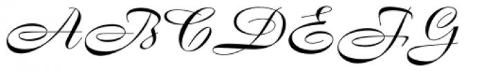 Boulevard Pro Font UPPERCASE