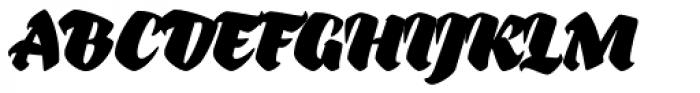 Bouquet Font UPPERCASE