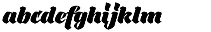 Bouquet Font LOWERCASE