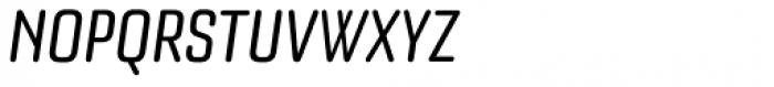 Bourgeois Rounded Medium Condensed Italic Font UPPERCASE