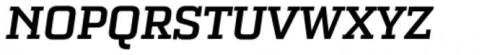 Bourgeois Slab Bold Italic Font UPPERCASE