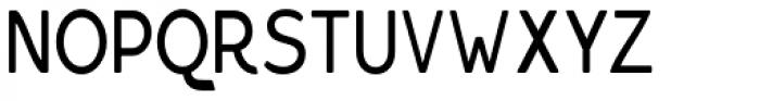Bourne Condensed Rounded Light Font UPPERCASE