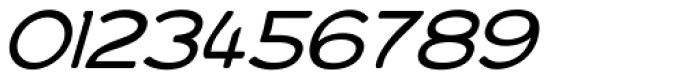 Bourne Oblique Light Font OTHER CHARS
