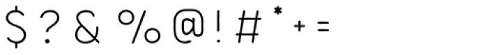 Bourton Hand Line Medium Font OTHER CHARS