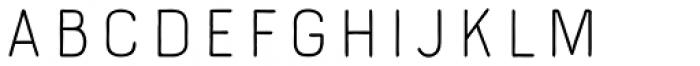 Bourton Hand Line Medium Font UPPERCASE