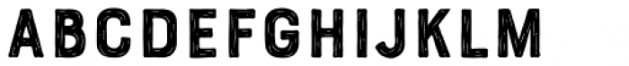 Bourton Hand Sketch A Font LOWERCASE