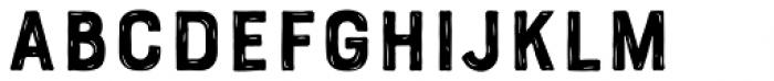 Bourton Hand Sketch B Font LOWERCASE