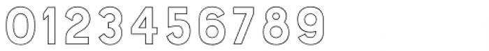 Bourton Outline Light Font OTHER CHARS