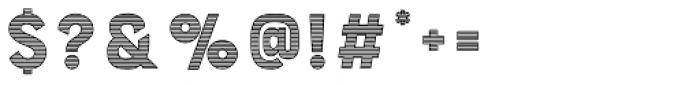 Bourton Stripes C Font OTHER CHARS