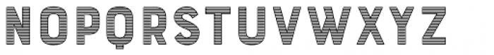 Bourton Stripes C Font UPPERCASE