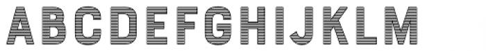 Bourton Stripes C Font LOWERCASE