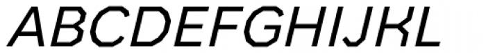 Bowie Regular Italic Font UPPERCASE