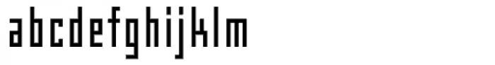 Box Gothic Font LOWERCASE